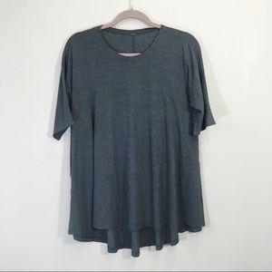Lululemon Size 10 Swing T-shirt Shortsleeve Grey